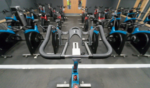 Indoor Cycling Studio